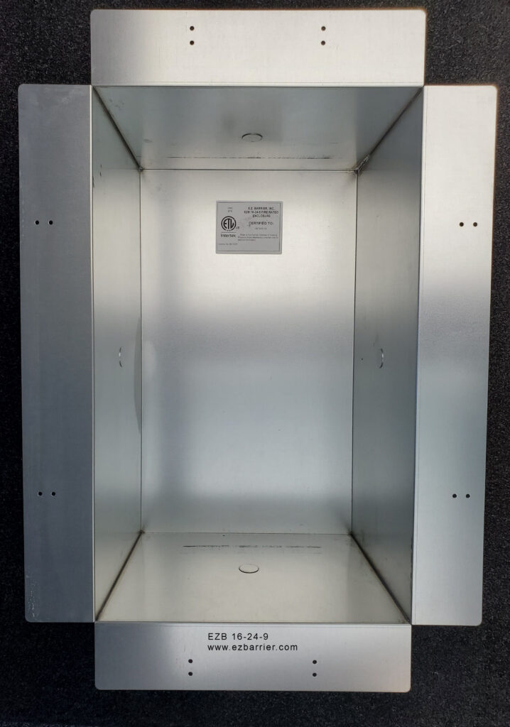 Fire Rated Enclosure by EZBarrier